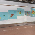 Maps; Driving the Ocean to Boats by Nikolaus A. Nessler, Ausstellungshalle Oststern, Frankfurt am Main 2018